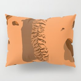 Tiger in the desert (global warming) Pillow Sham