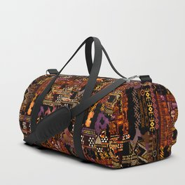 Ethno-jazz Duffle Bag