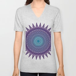 Colourful Mandala #1 Unisex V-Neck