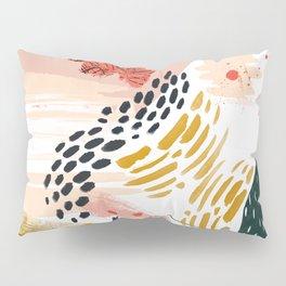 Artistic brush-strokes Pillow Sham