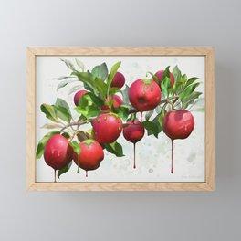 Melting Apples Framed Mini Art Print