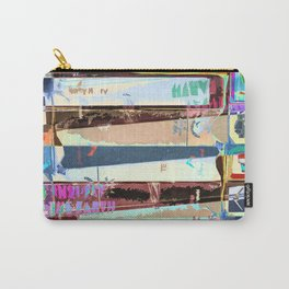 Video Tapes Abstract Carry-All Pouch