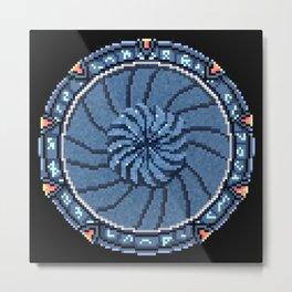 Pixie Iris Metal Print