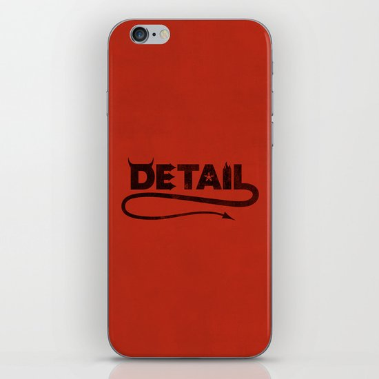 The Devil's in the Detail iPhone Skin