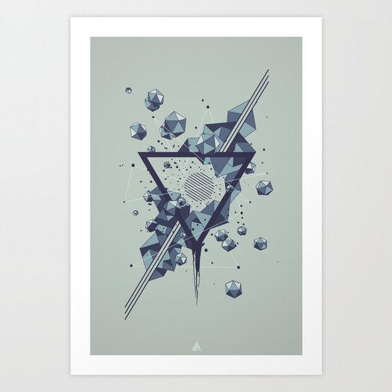 DARK MATTER • V01 Art Print