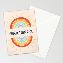 Andrà Tutto Bene Stationery Cards