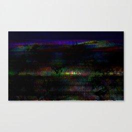 dark rainbow Canvas Print