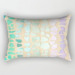 Sea Glass Rectangular Pillow