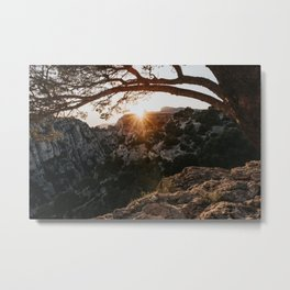 Sunset - Landscape and Nature Photography Metal Print