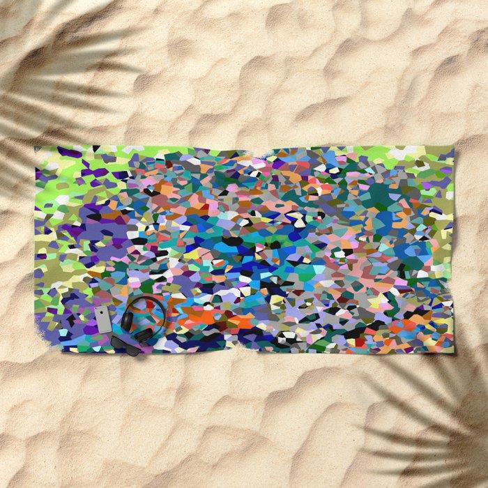 Crystallize 6 Beach Towel
