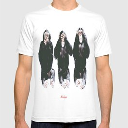 The three wise monkeys T-shirt
