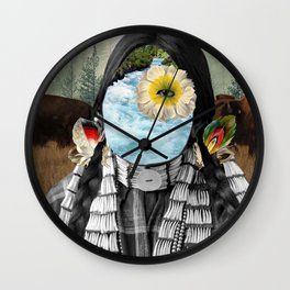 Water Protector Wall Clock