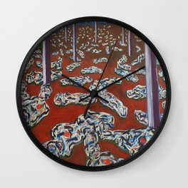 Internal Combustion 1 Wall Clock