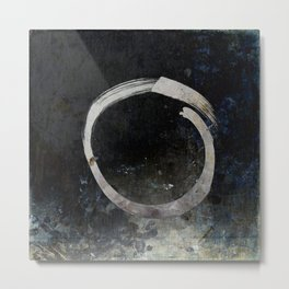 Enso #5 - Ghost Metal Print