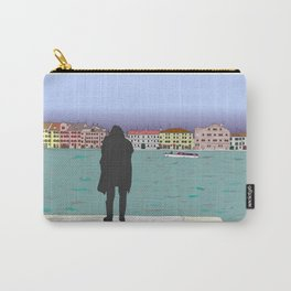Dark shadow in Venice Carry-All Pouch