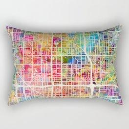 Phoenix Arizona City Map Rectangular Pillow