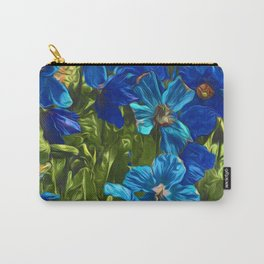 Floral Art 3 Carry-All Pouch