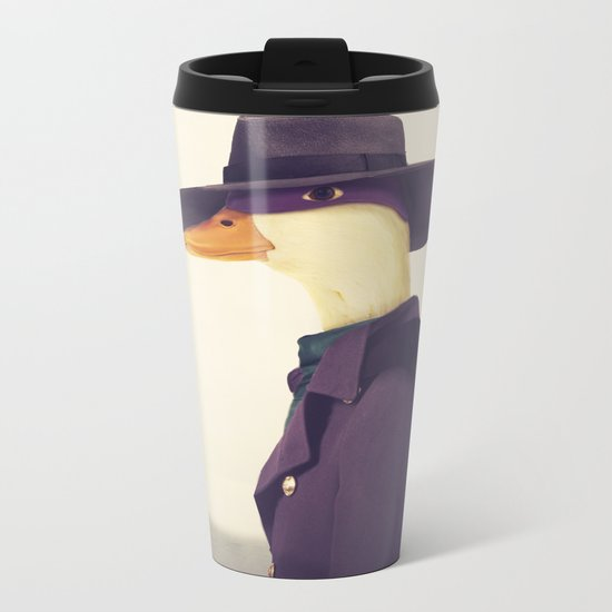 Justice Ducks - The Terror Metal Travel Mug