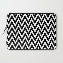 Chevron Black Laptop Sleeve