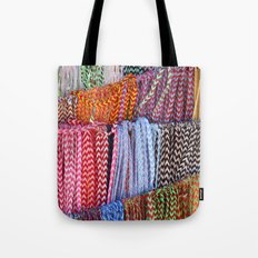 Color threads Tote Bag