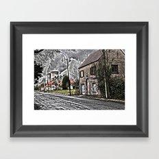 Ghost town Doel Belgium Framed Art Print