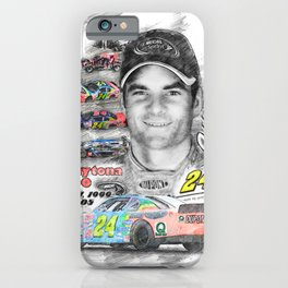 Jeff Gordon iPhone Case