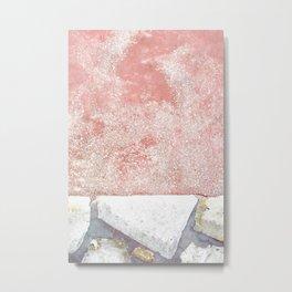 Abstract Pink Art Metal Print