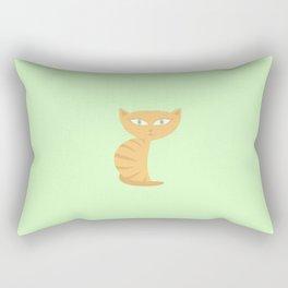 Mysterious Cat Rectangular Pillow