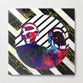 Daft Punk Art Metal Print