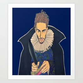 Willy Shakes Art Print