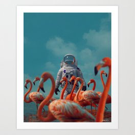 day twenty-four Art Print
