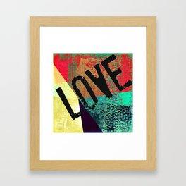 New Love it Valentines LOVE Framed Art Print