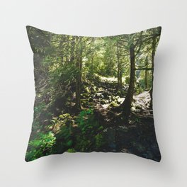 Oregon Forest Throw Pillow