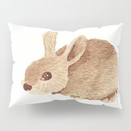 Coffee Bunny 1 Pillow Sham