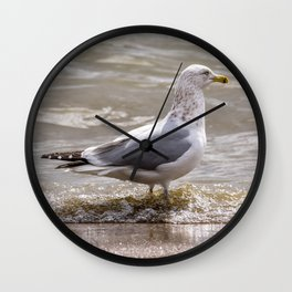 A day at the beach Wall Clock