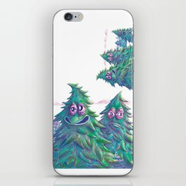 Pine is Fine iPhone Skin