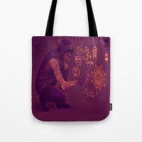 zayn Tote Bags featuring Zayn by RockitRocket