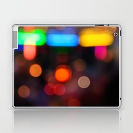 Night Light Colors Laptop & iPad Skin