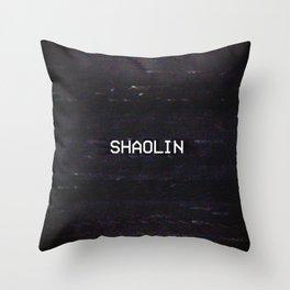 SHAOLIN Throw Pillow