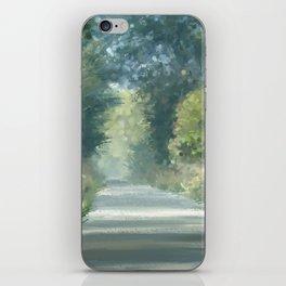 The road back home iPhone Skin
