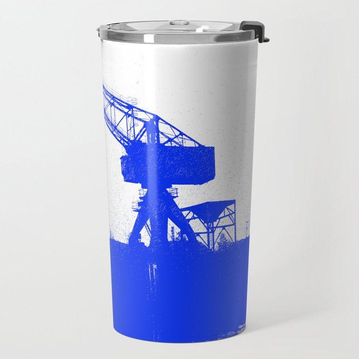 M A N Canal Port Crane Travel Mug