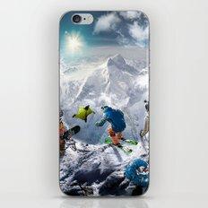 SKY DIVERS iPhone & iPod Skin