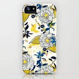 Flowers patten1 iPhone Case