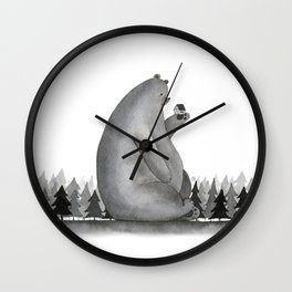 Giant Bear Wall Clock