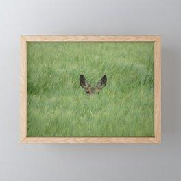 Sunny feilds Framed Mini Art Print