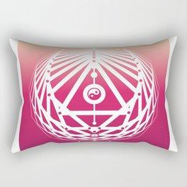 Radiant Abundance (sunrise-white) Rectangular Pillow