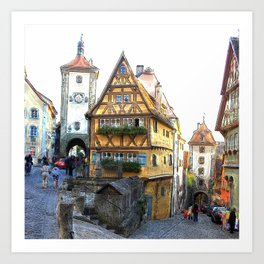 Rothenburg20150903 Art Print