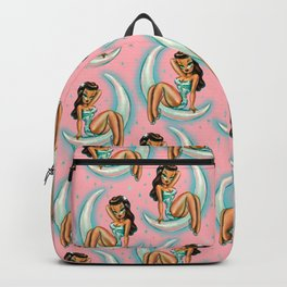 Glamour Girl on the Moon Backpack