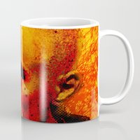 robert farkas Mugs featuring ROBERT D. by Joe Ganech