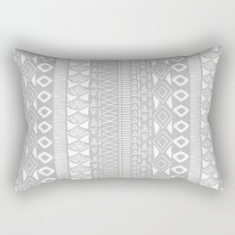 Adobe in Grey Rectangular Pillow